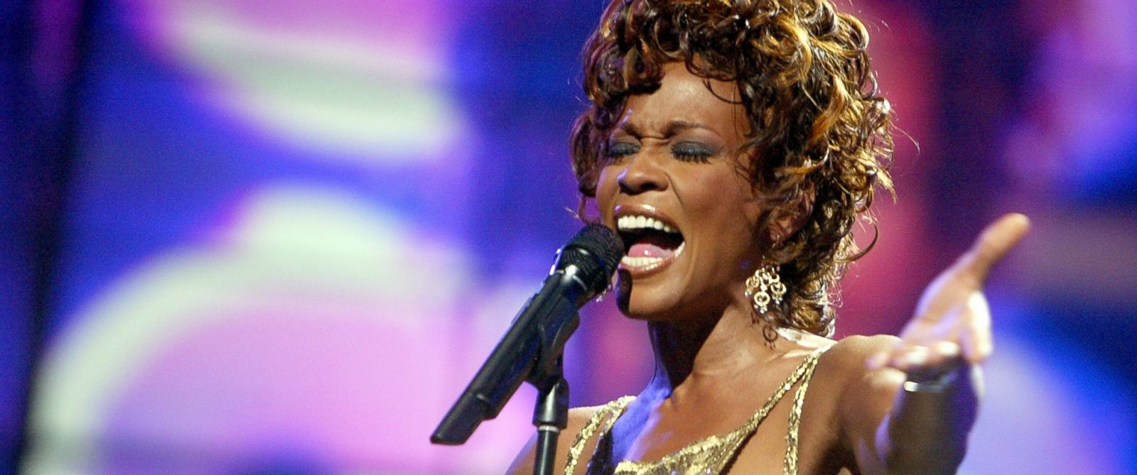 PHOTO: Whitney Houston is seen performing on stage during the 2004 World Music Awards at the Thomas and Mack Center, Sept. 15, 2004, in Las Vegas, Nevada.