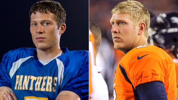 PHOTO: Matt Saracen in Friday Night Lights and Denver Broncos quarterback, Zac Dysert.
