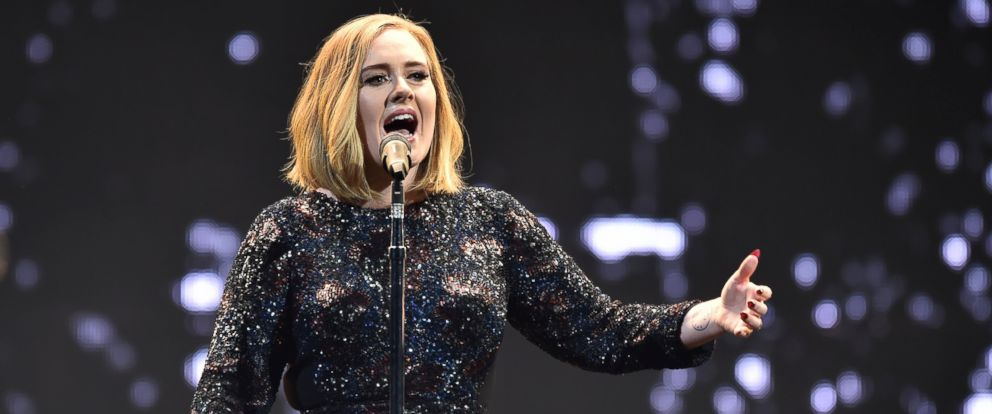 PHOTO: Adele performs on stage at the SSE Arena Belfast on Feb. 29, 2016 in Belfast, Northern Ireland.