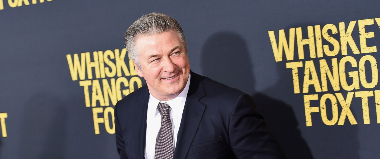 "PHOTO: Alec Baldwin attends the ""Whiskey Tango Foxtrot"" world premiere at AMC Loews Lincoln Square 13 theater on March 1, 2016 in New York."