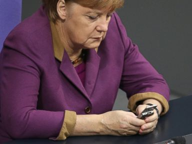 German Chancellor Angela Merkel Misses 'Phone-a-Friend� Call Twice