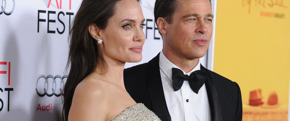 "PHOTO: Angelina Jolie and Brad Pitt attend the premiere of ""By the Sea"" at the 2015 AFI Fest at TCL Chinese 6 Theatres, Nov. 5, 2015, in Hollywood, California."