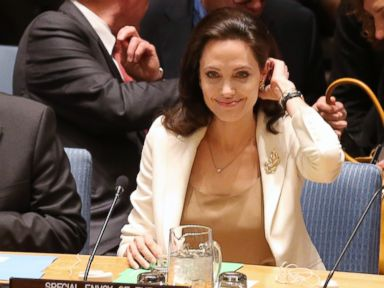 Angelina Jolie Speaks at the UN