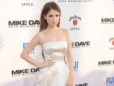 Photos:  Anna Kendrick Wears White on the Red Carpet
