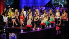 PHOTO: Eliminated bachelorettes appear on The Bachelor: The Women Tell All, which aired March 2, 2015 on ABC.
