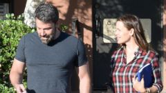 Ben Affleck and Jennifer Garner Step Out Together in LA
