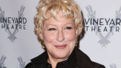 Bette Midler Debuts a New, Cropped Hairdo