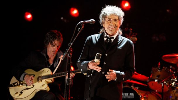 PHOTO: Bob Dylan onstage during the 17th Annual Critics' Choice Movie Awards held at The Hollywood Palladium on Jan. 12, 2012 in Los Angeles.