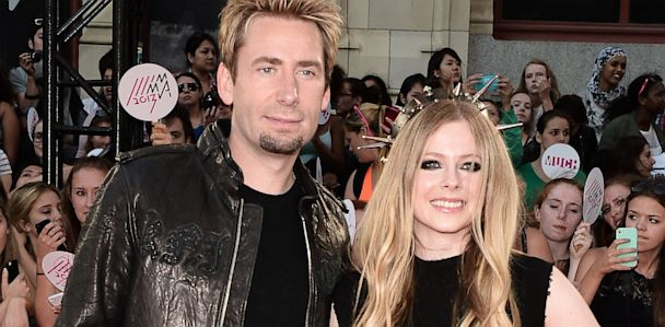 GTY Chad Kroeger Avril Lavigne jef 130702 33x16 608 Avril Lavigne Calls Wedding to Chad Kroeger an Experience of a Lifetime