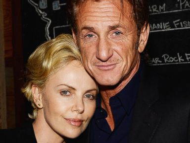 Photos: Charlize Theron and Sean Penn Get Cuddly