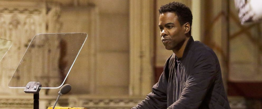 PHOTO: Chris Rock attends the 2016 MLK Now at Riverside Church, Jan. 18, 2016 in New York.