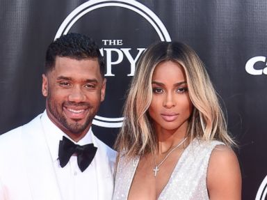 Newlyweds Ciara and Russell Wilson Attend the ESPYS Together