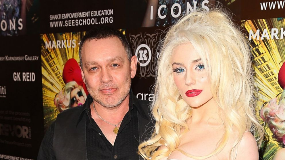 PHOTO: Doug Hutchinson and Courtney Stodden arrive at Markus + Indrani Icons book launch party hosted by Carmen Electra benefiting The Trevor Project at Merry Karnowsky Gallery & Graffiti in this Jan. 10, 2013, file photo in Los Angeles, Calif.