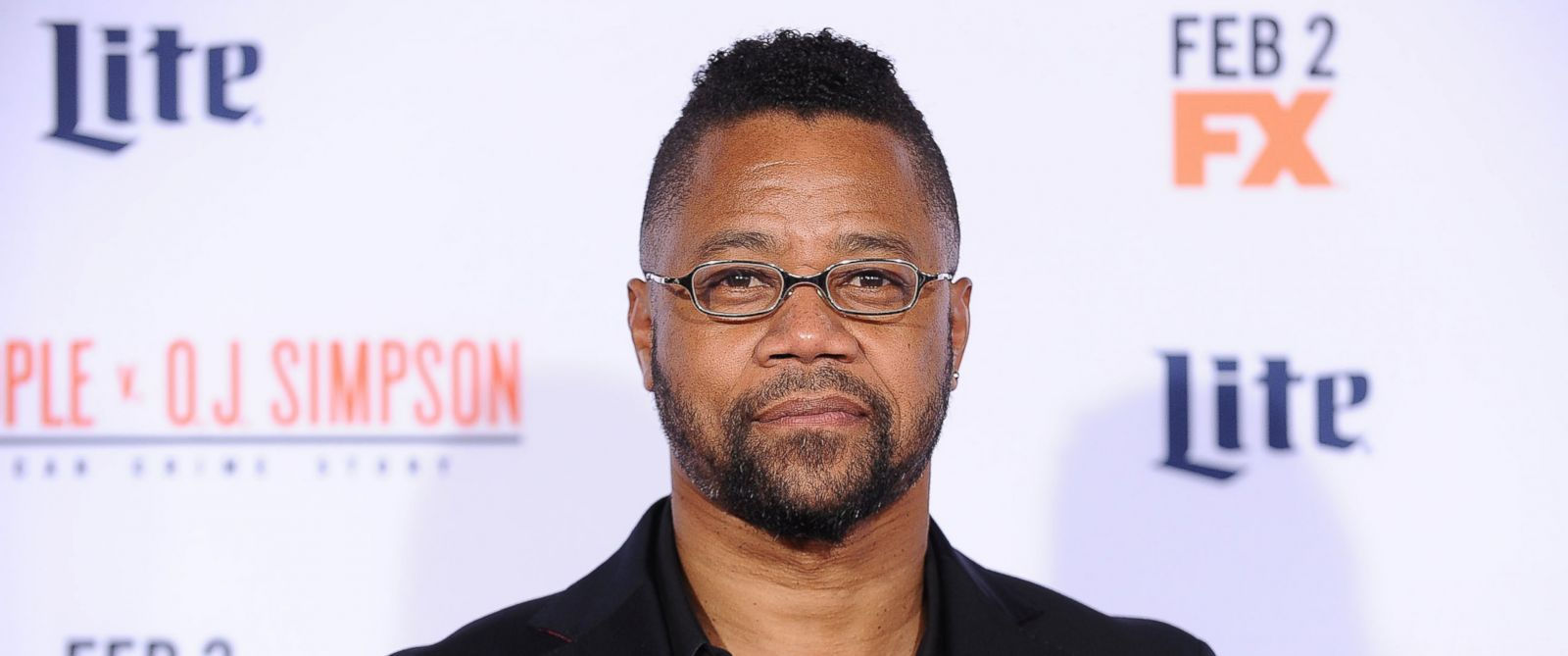 "PHOTO: Cuba Gooding, Jr. attends the premiere of ""American Crime Story - The People V. O.J. Simpson"" on Jan. 27, 2016 in Westwood, Calif."