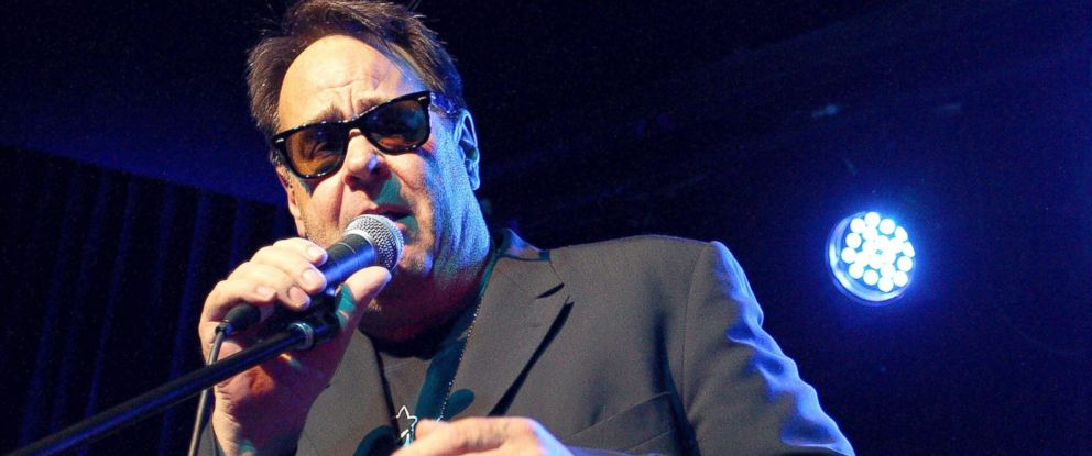 PHOTO: Dan Aykroyd performs on stage during a Crystal Head Vodka party at Rock Lily, The Star on Oct. 10, 2013 in Sydney.