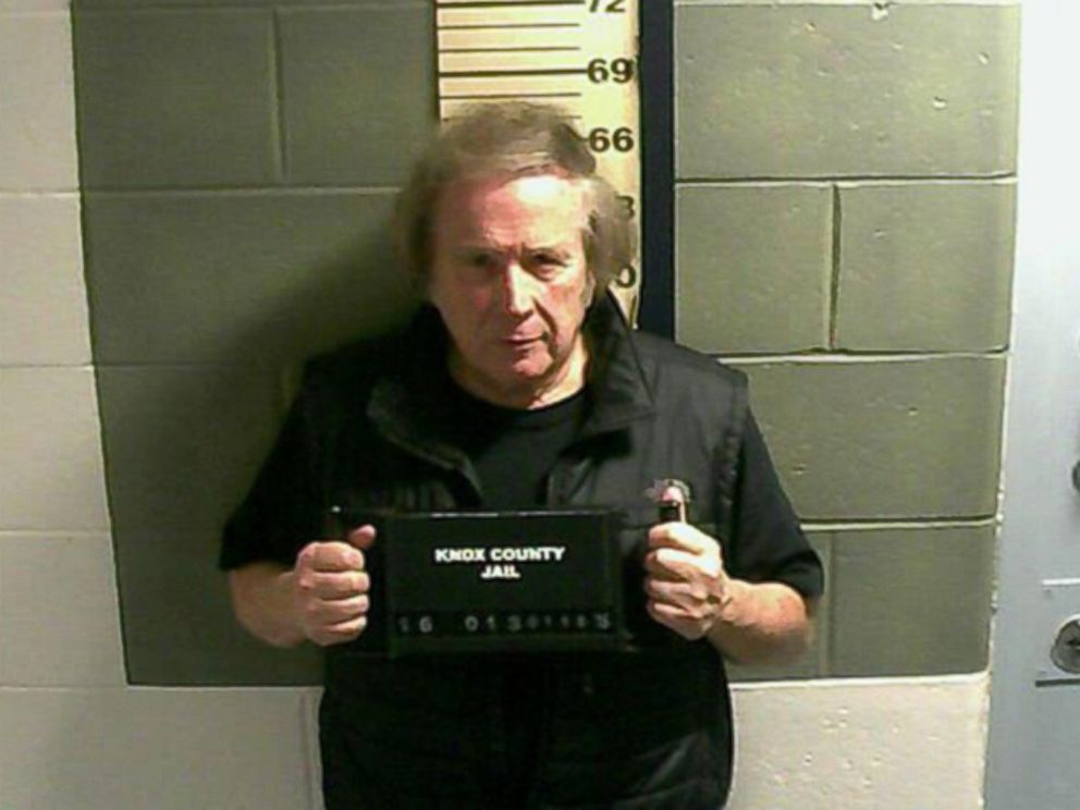PHOTO: In this handout photo provided by the Knox County Jail, Singer Don McLean appears in a booking photo after being charged with domestic violence assault on Jan. 18, 2016 at the Knox Count Jail in Rockland, Maine.