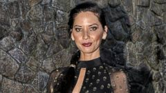 Olivia Munn Steps Out in a Sheer Gown