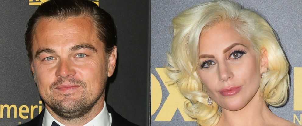 PHOTO: Actor Leonardo DiCaprio and Lady Gaga attend the Fox and FXs 2016 Golden Globe Awards Party on Jan. 10, 2016 in Beverly Hills, Calif.