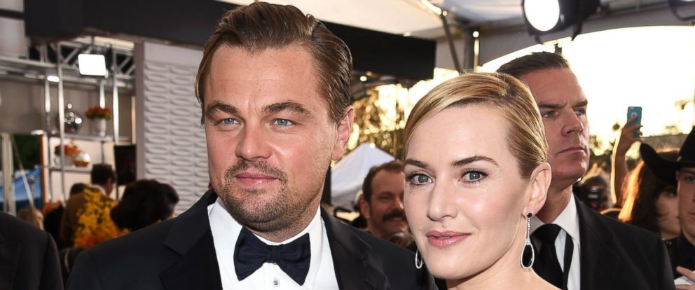 PHOTO: Leonardo DiCaprio and Kate Winslet attend the 22nd Annual Screen Actors Guild Awards at The Shrine Auditorium on Jan. 30, 2016 in Los Angeles, California.