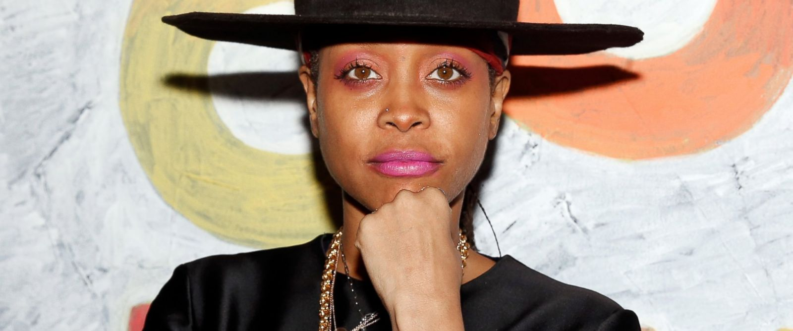 PHOTO: Motown toasts Erykah Badu atthe Samsung Galaxy Experience at SXSW on March 14, 2014 in Austin, Texas.