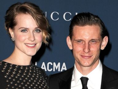 Jamie Bell and Evan Rachel Wood Split