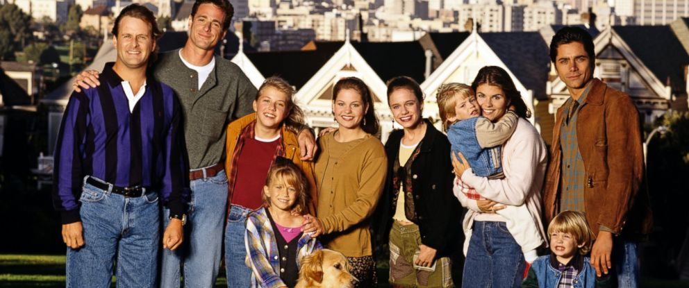 "PHOTO: The cast of ""Full House"" seen together in 1994."