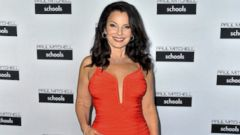 Fran Drescher Stuns in a Red Gown