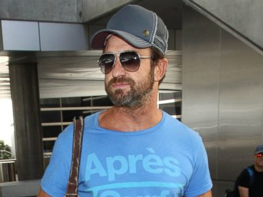 Gerard Butler Shows Off a Crazy Beard