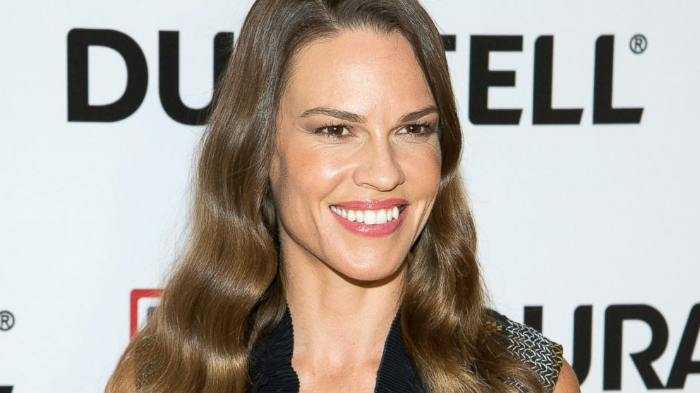 hilary swank young