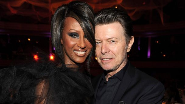 PHOTO: Iman and David Bowie at Hammerstein Ballroom during Keep A Child Alive's 6th Annual Black Ball, Oct.15, 2009 in New York.