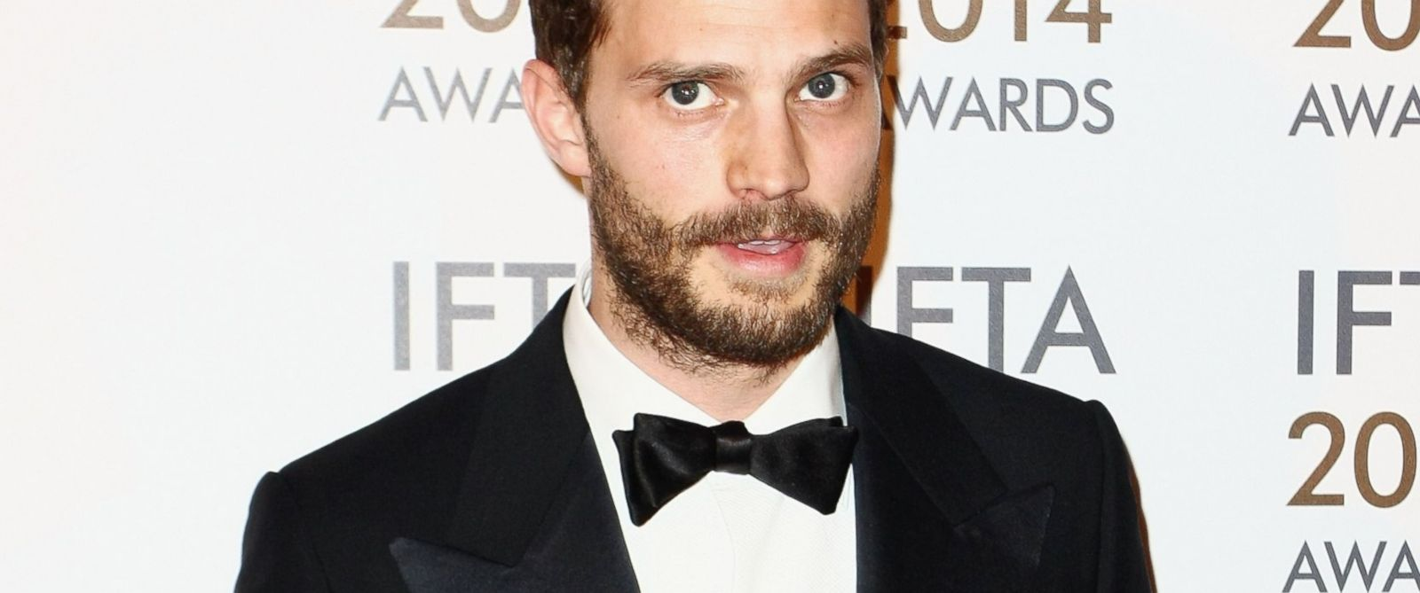 PHOTO: Jamie Dornan attends the Irish Film And Television Awards, April 5, 2014, in Dublin.