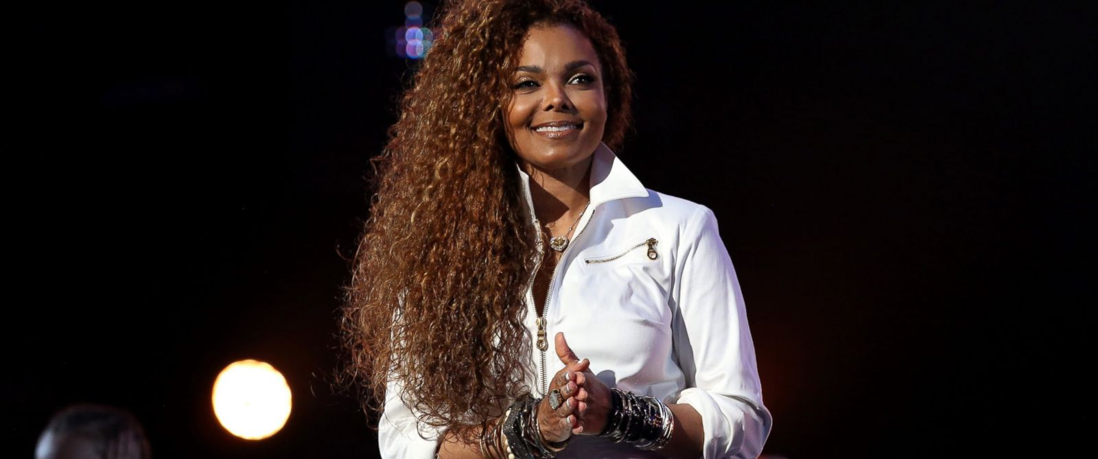 PHOTO:Janet Jackson is seen onstage during the 2015 BET Awards at the Microsoft Theater, June 28, 2015, in Los Angeles.
