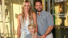 Jason Priestley Attends an Event With His Family