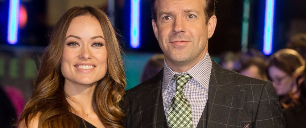 "PHOTO: Olivia Wilde and Jason Sudeikis attends the UK Premiere of ""Horrible Bosses 2"" at Odeon West End, Nov. 12, 2014 in London."