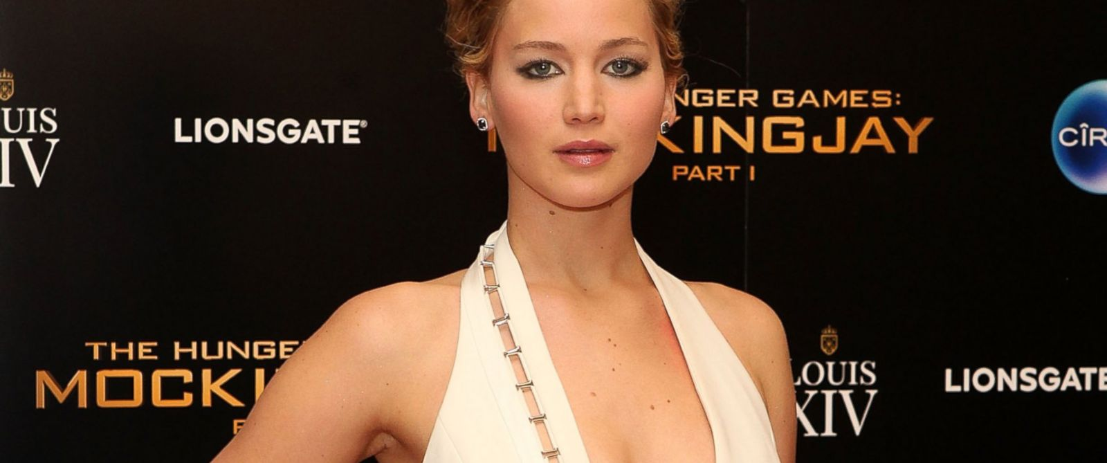 "PHOTO: Jennifer Lawrence attends an after party following the World Premiere of ""The Hunger Games: Mockingjay Part 1"" at Victoria House, Nov. 10, 2014,in London."