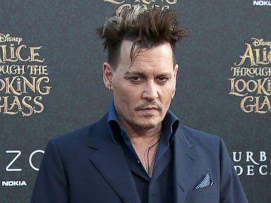 Photos:  Johnny Depp Strikes a Pose at Premiere