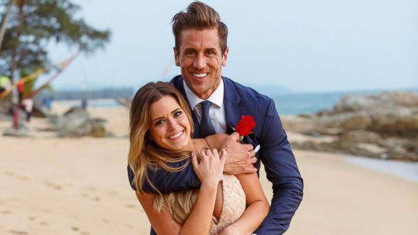 PHOTO: JoJo Fletcher and her fiancee Jordan Rodgers from