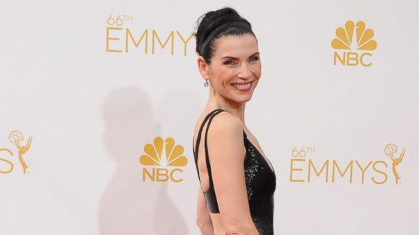 PHOTO: Actress Julianna Margulies attends the 66th annual Primetime Emmy Awards at Nokia Theatre L.A. Live, Aug. 25, 2014, in Los Angeles.
