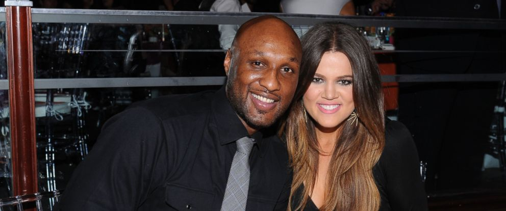 """PHOTO: Basketball player Lamar Odom and TV personality Khloe Kardashian attend Voli Light Vodka Supports The 19th Annual Race To Erase MS """"Glam Rock To Erase MS"""" at the Hyatt Regency Century Plaza on May 18, 2012 in Century City, Calif."""