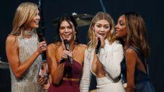 Karlie Kloss, Kendall Jenner, Gigi Hadid and Jourdan Take the Mic