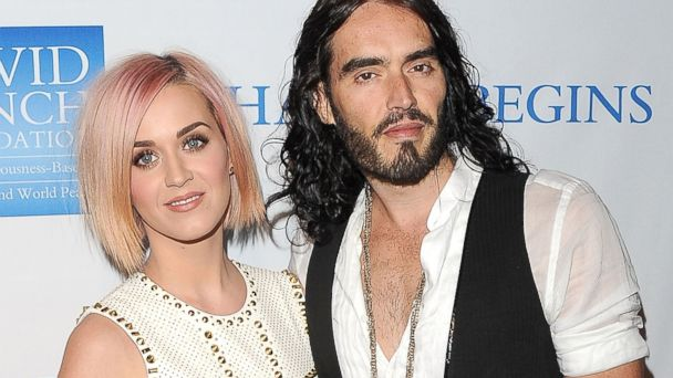 GTY Katy Perry Russell Brand ml 131022 16x9 608 Katy Perry on Russell Brand Divorce: Its Like I Got Punched in the Face