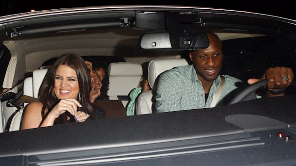 PHOTO: Khloe Kardashian and Lamar Odom