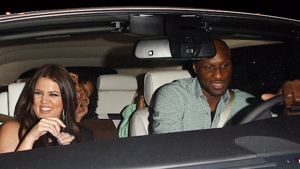 Khloe Kardashian and Lamar Odom are seen at Boa Steackhouse,  June 20, 2010 in Los Angeles, Calif.