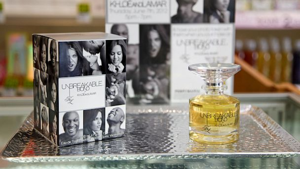 PHOTO: Khloe Kardashian and Lamar Odoms Unbreakable Fragrance