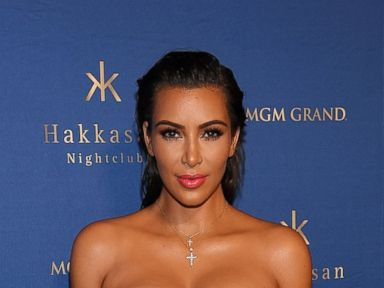 PHOTO: Kim Kardashian West arrives at Hakkasan Las Vegas Nightclub on July 22, 2016 in Las Vegas.