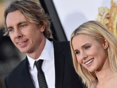 PHOTO: Actors Dax Shepard and Kristen Bell arrive at the premiere of USA Pictures The Boss at Regency Village Theatre, on March 28, 2016, in Westwood, California.