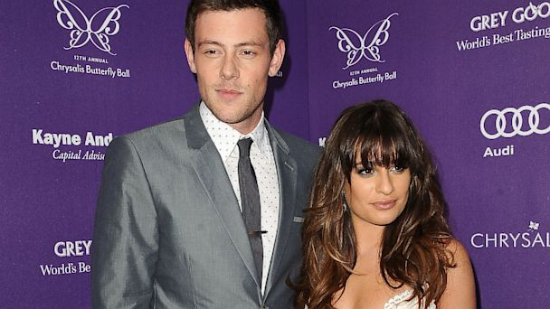 GTY Lea Michele Cory Montieth ml 131009 16x9 608 Lea Michele: Ive Lost Two People, Cory and Finn