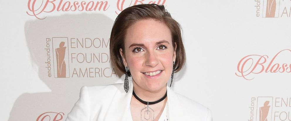 PHOTO: Event honoree Lena Dunham attends the 8th Annual Blossom Ball at Pier Sixty at Chelsea Piers on April 19, 2016 in New York City.