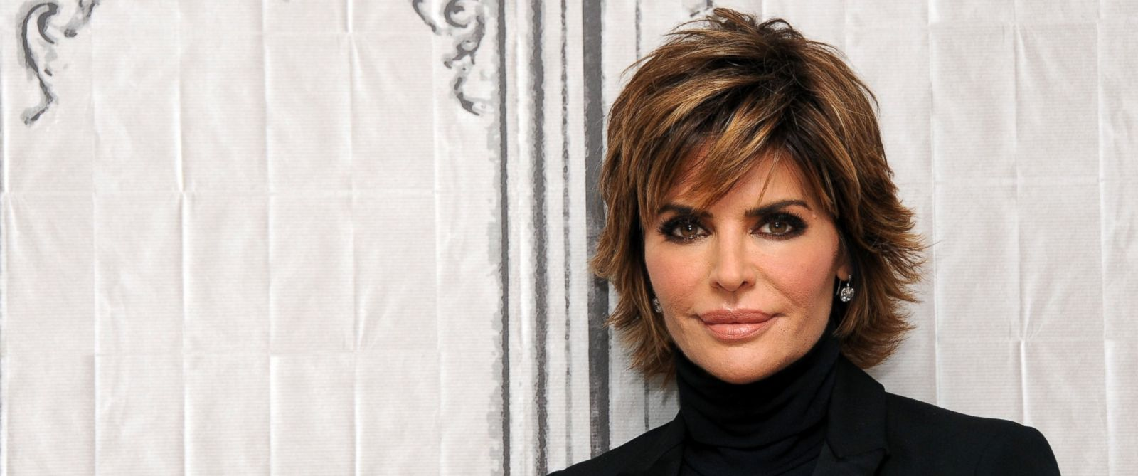 "PHOTO: Actress Lisa Rinna of ""Real Housewives of Beverly Hills"" at AOL Studios In New York on Dec. 8, 2015."