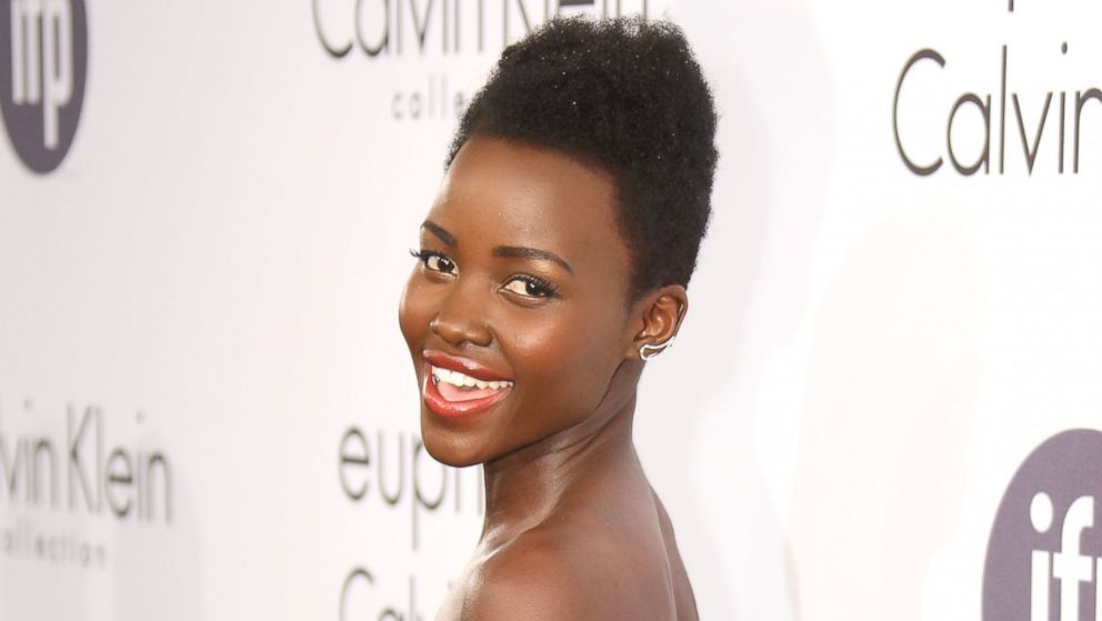 PHOTO: Lupita Nyongo attends the Calvin Klein Party at the 67th Annual Cannes Film Festival on May 15, 2014 in Cannes, France.